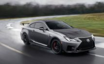 2020 Lexus RC-F Track Edition doing what it does best
