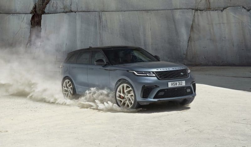 Land Rover Range Rover Velar SVAutobiography Dynamic front 3/4 view