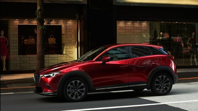 Mazda CX-3 profile view