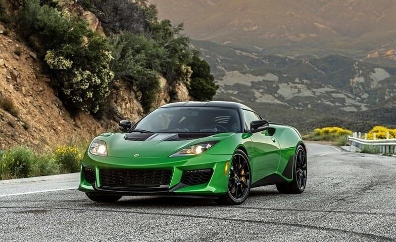 Lotus Evora GT front 3/4 view