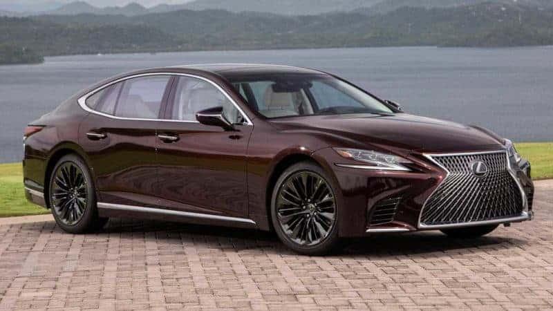 Lexus LS 500 Inspiration Series front 3/4 view
