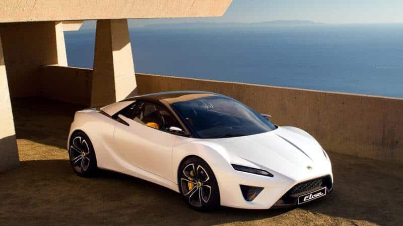 Lotus Elise render front 3/4 view