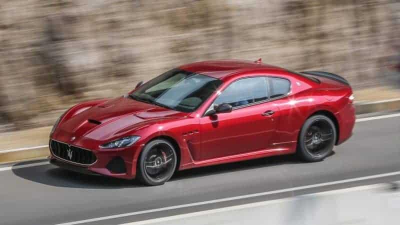 Maserati GranTurismo front 3/4 view