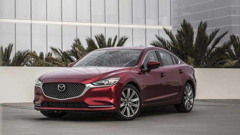 Mazda 6 front 3/4 view