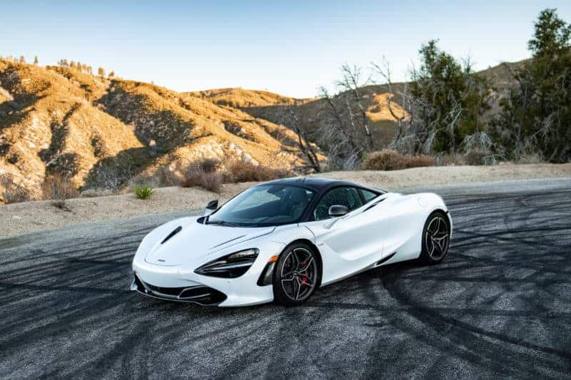 McLaren 720S front 3/4 view