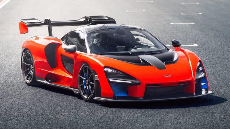 McLaren Senna VP736-P15 prototype front 3/4 view