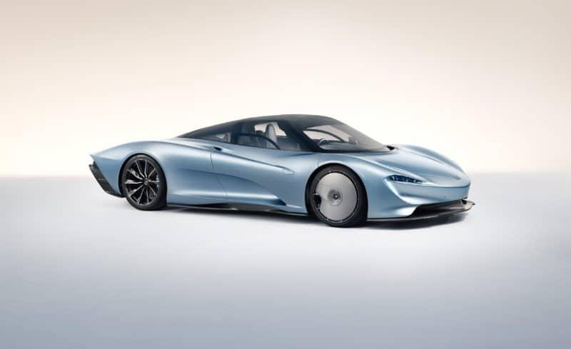 2020 McLaren Speedtail is the British automaker's new halo car