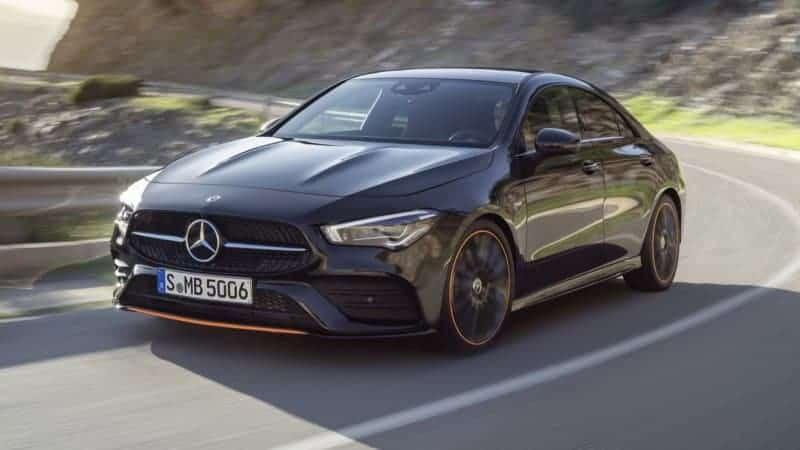 Mercedes-Benz CLA Class Edition 1 model