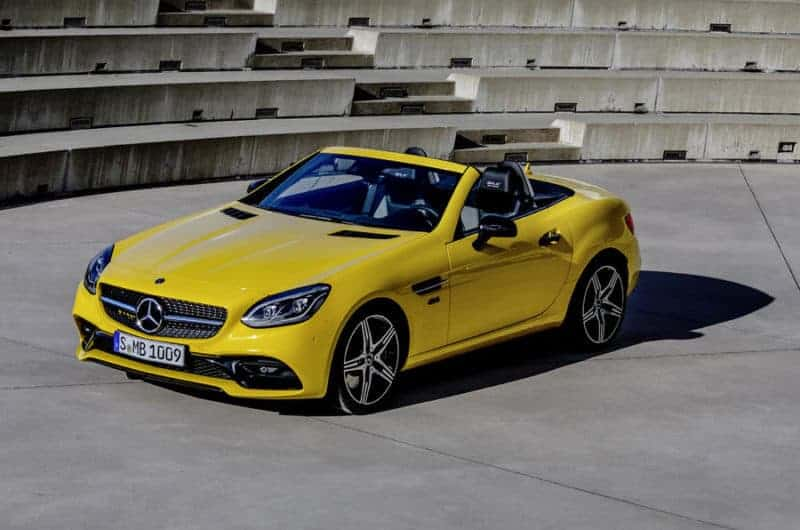 Mercedes-Benz SLC Final Edition marks the venerable roadster's end in 2020