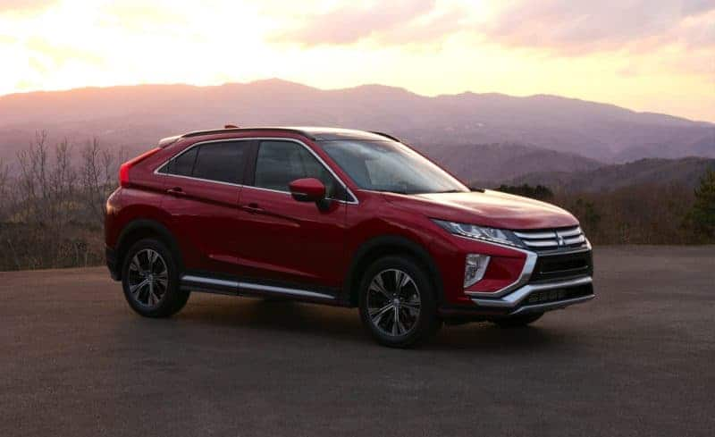 Mitsubishi Eclipse Cross front 3/4 view