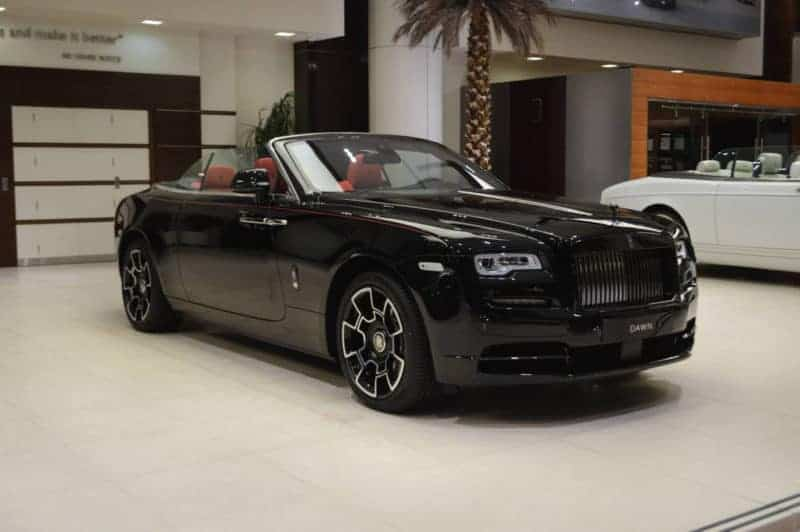Rolls-Royce Dawn front 3/4 view