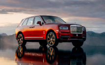 Rolls Royce Cullinan front 3/4 view