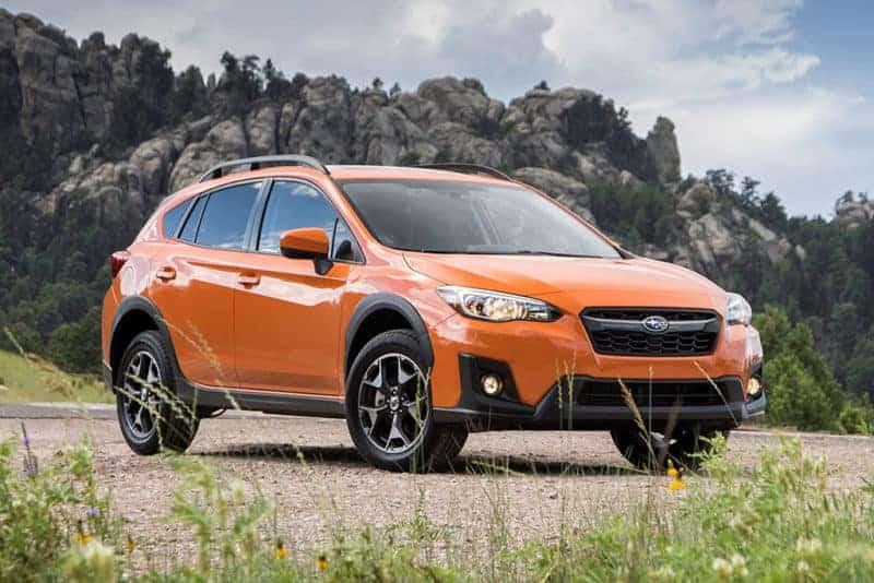 Subaru Crosstrek front 3/4 view
