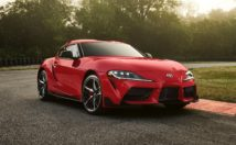 2020 Toyota Supra front 3/4 view