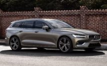 Volvo V60 profile view
