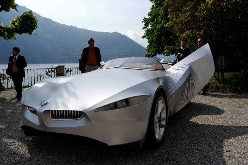 BMW GINA concept car - front 3/4 view