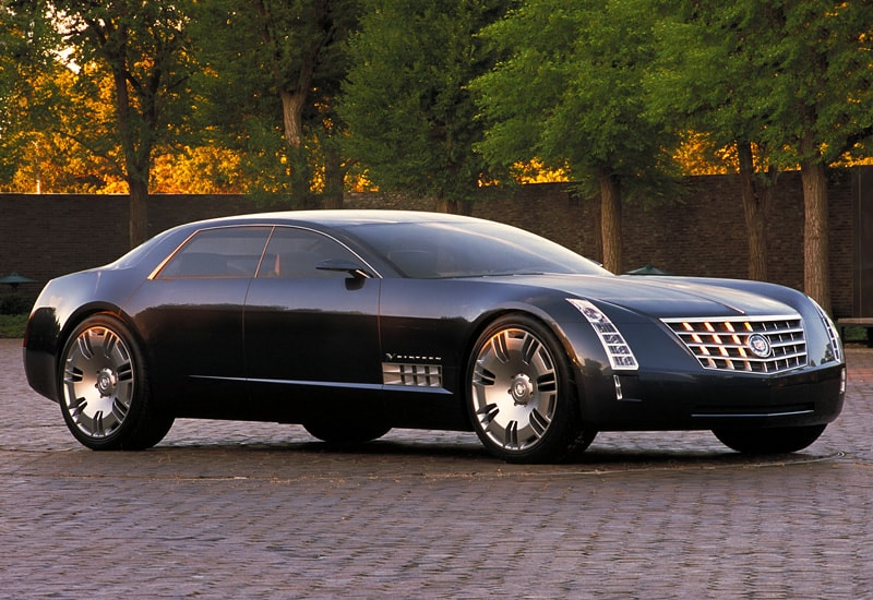 Cadillac Sixteen profile view