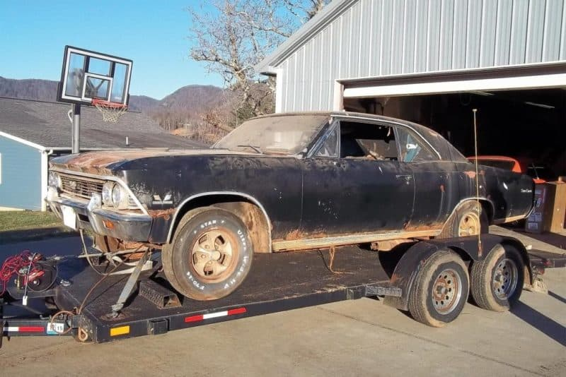 10 Incredible Barn Finds Sports and Muscle Cars