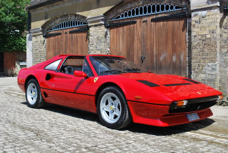 Ferrari 208 GTS Turbo front 3/4 view