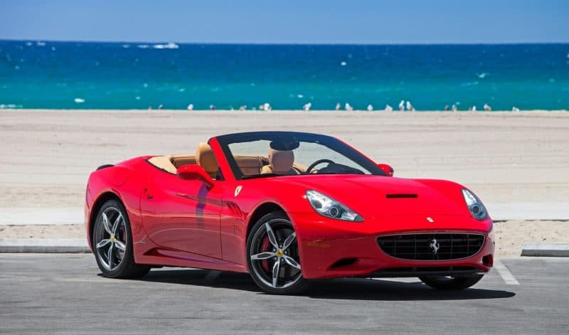 Ferrari California is one of the most questionable Ferrari cars in recent history