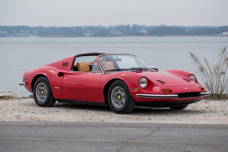 Ferrari Dino 246 GTS front 3/4 view