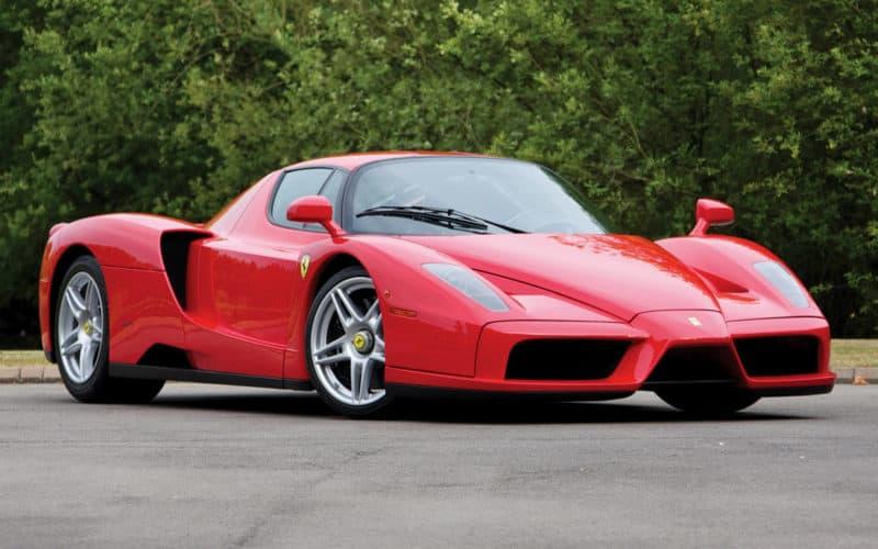 Ferrari Enzo front 3/4 view
