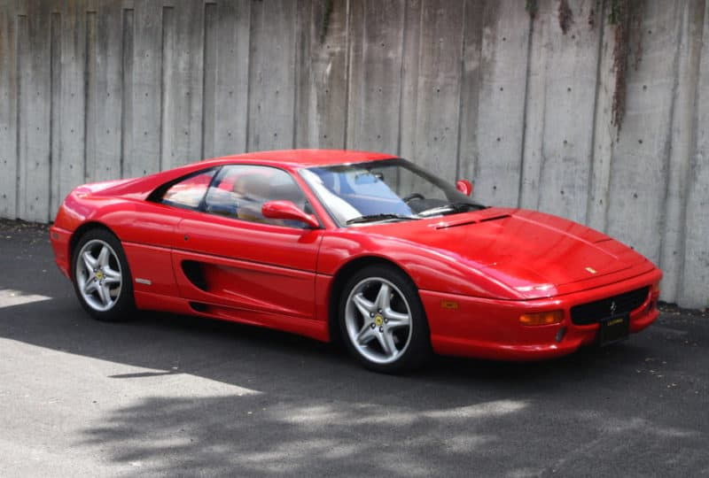 Ferrari F355 front 3/4 view