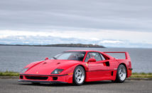 Still considered one of the best Ferrari cars of all time - the F40