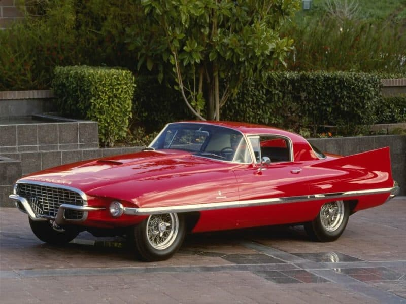 Ferrari 410 Superamerica Ghia - hands down, one of the most awkward-looking Ferrari's of all time
