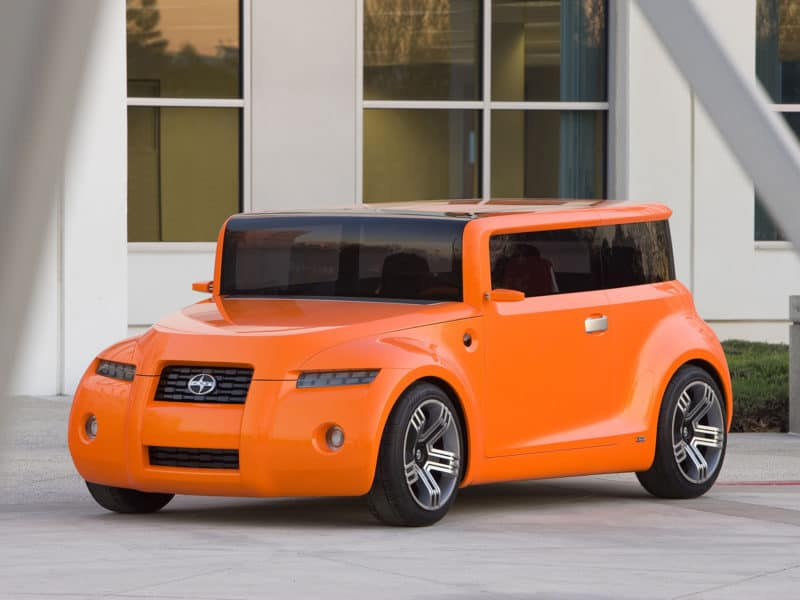 Scion Hako Coupe is one of the most awkward looking concepts in recent years