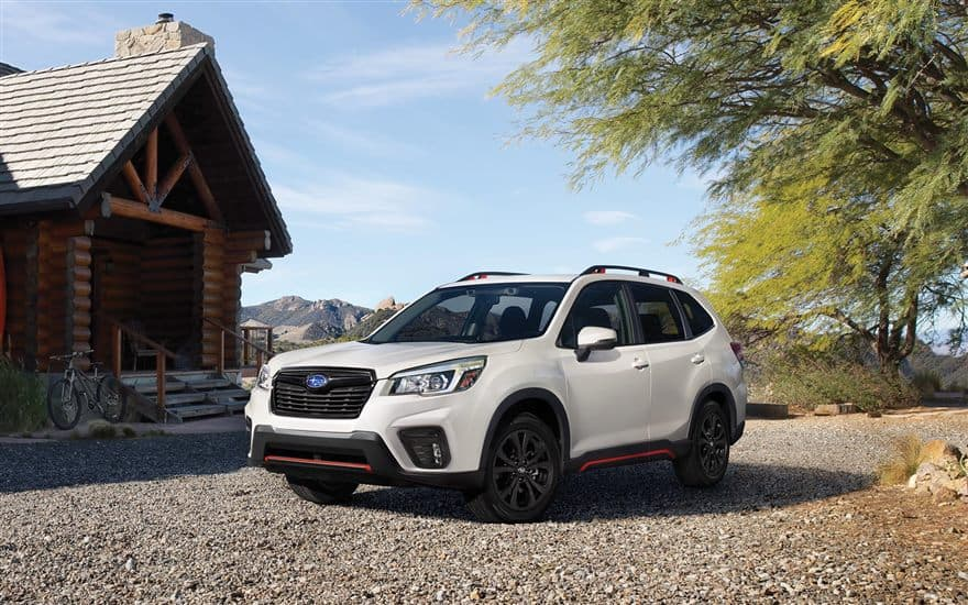 Subaru Forester - a perfect choice for a family car