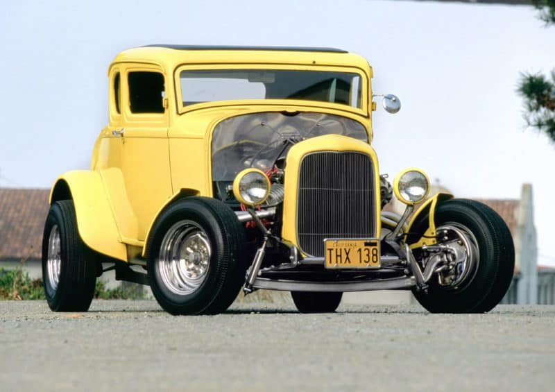 "1932 Ford Deuce Coupe from ""American Graffiti"""