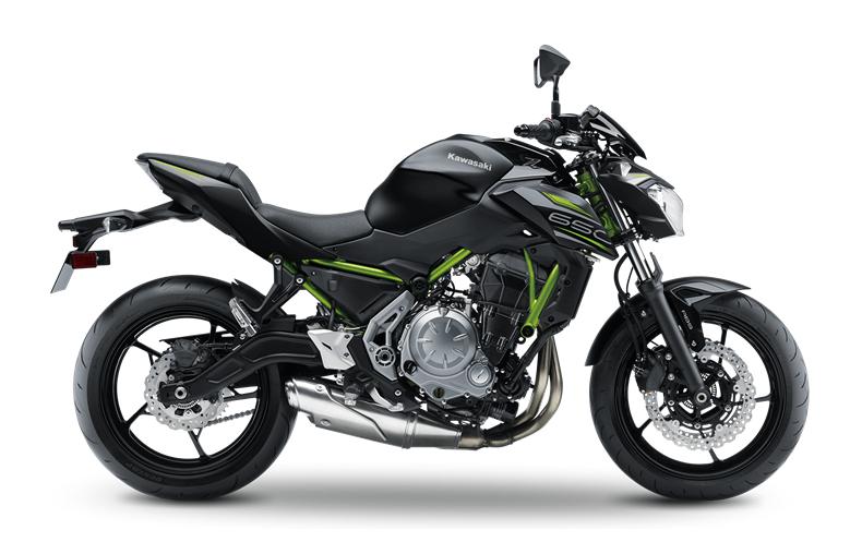 2019 Kawasaki Z650 Side View