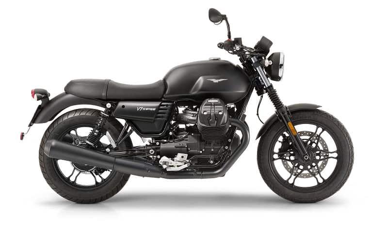 2019 Moto-Guzzi V7 III Stone Side View
