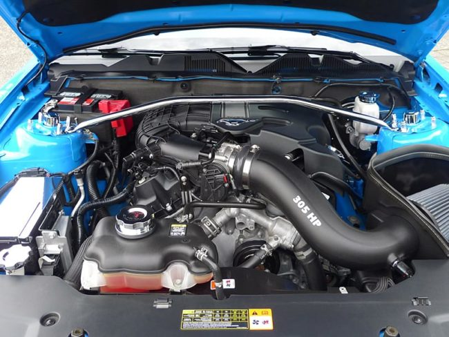 227 cu in Duratec V6 is the best Mustang six cylinder engine