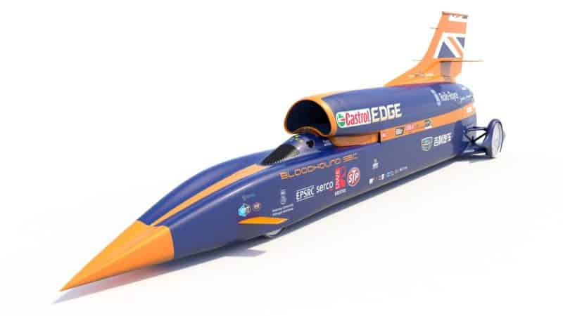The Bloodhound Project Record Breaking Speed Car