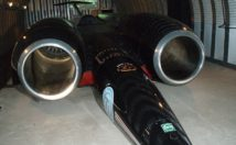 Thrust-SSC et Car Front View