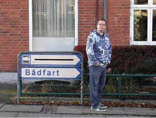Badfart street sign