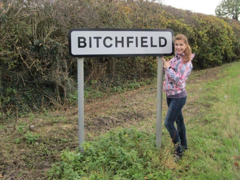 Bitchfield in England
