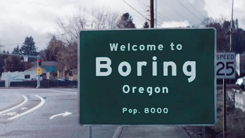 Boring, Oregon - officially paired with Dull in Scotland