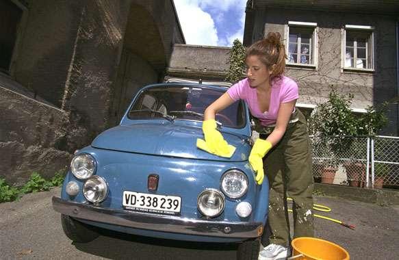 Car washing in Switzerland