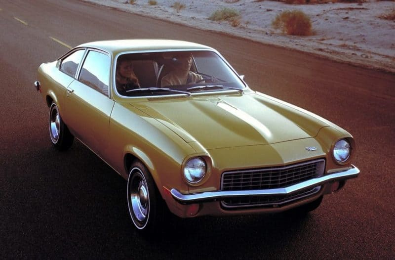 Chevrolet Vega front 3/4 view