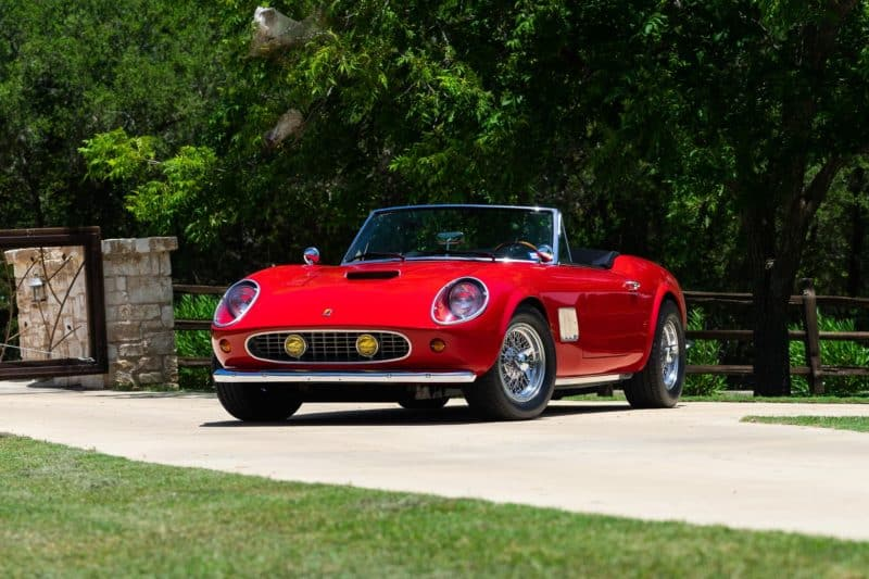 "Ferrari Modena GT Spyder California from ""Ferris Bueller's Day Off"""