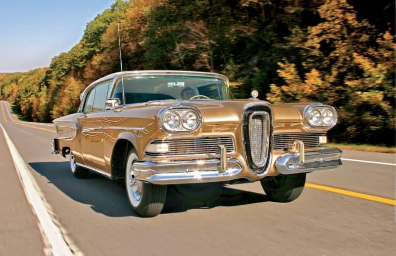 Ford Edsel was one of the most unfairly maligned cars of its era