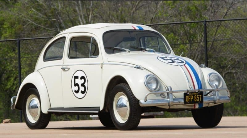Herbie is arguably the most beloved movie car of all time