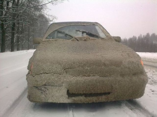 Dirty cars are forbidden on Russian roads