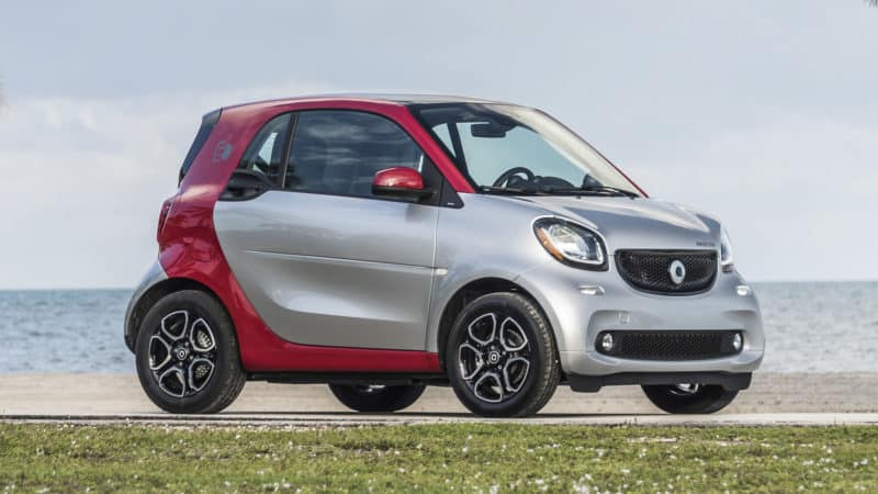 Smart ForTwo front 3/4 view