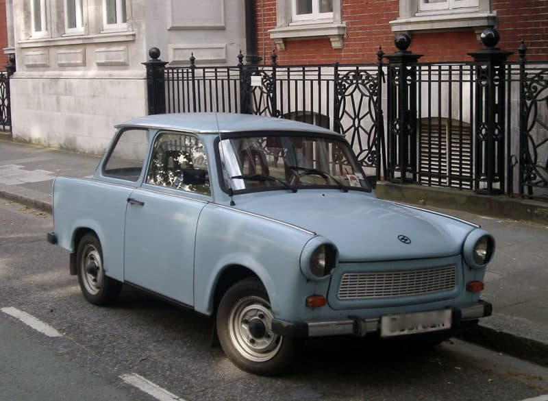 Eastern Bloc Trabant - one of the worst cars in existence