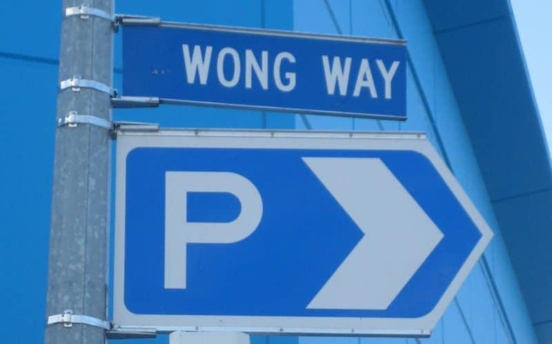 Wong way indeed