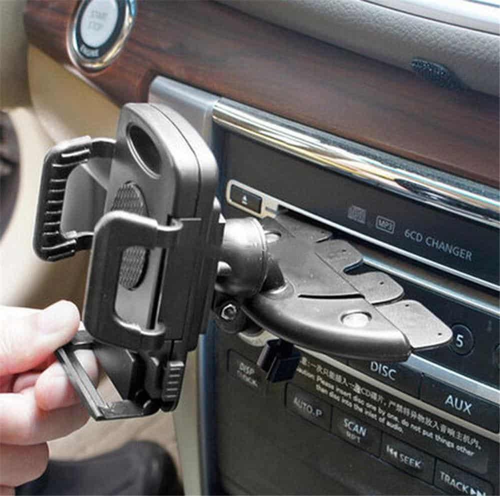 CD Slot car phone mount
